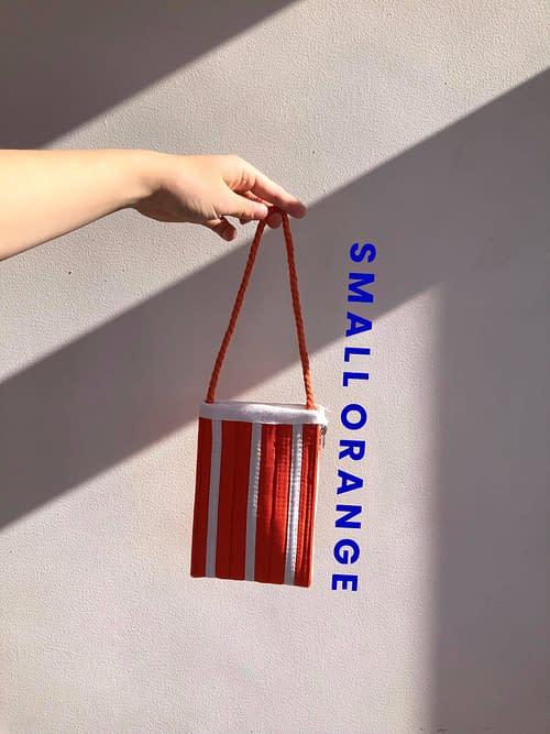 SMALL ORANGE BAG